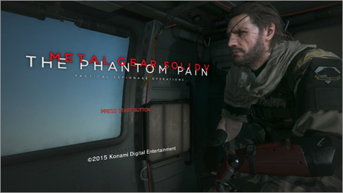 Metal Gear Solid V Не Сохраняется